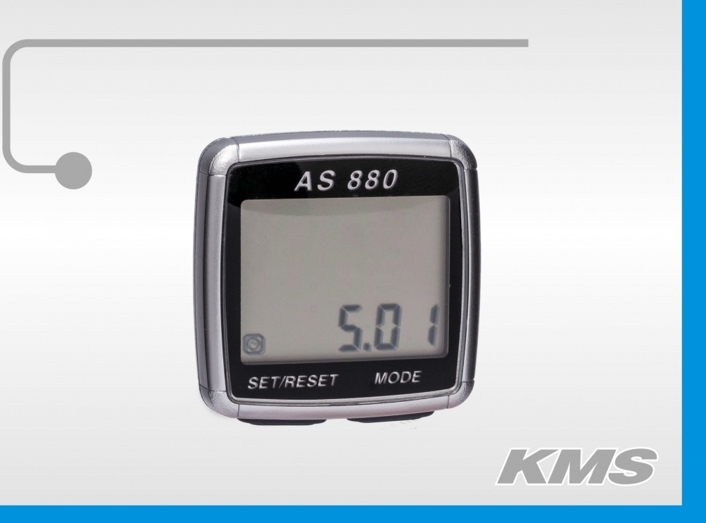 Велокомпьютер AS880 большой экран 330880