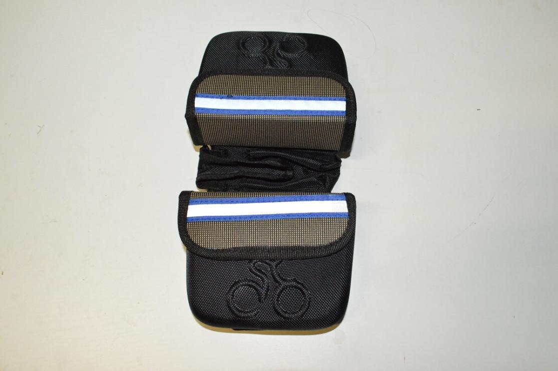 Сумка-бардачок для инстр., компакт, с дв. отд. и съемным модулем для телефона, код 3258108