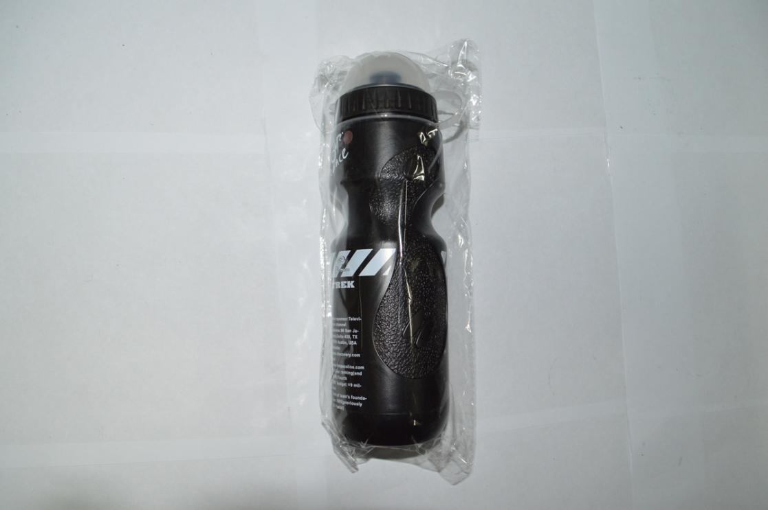 Фляга пластиковая черная, код. 40150